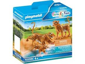 70359 2 Tiger mit Baby 01 o