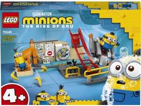 LEGO Minions 75546 Mimoni v Gruově laboratoři