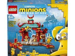 LEGO Minions 75550 Mimoňský kung-fu souboj