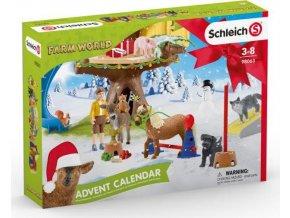Schleich 98063 Adventní kalendář Domácí zvířata 2020