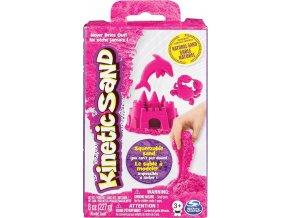 Kinetic Sand Kinetický písek neonově růžový 227g