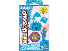 Kinetic Sand Kinetický písek neonově modrý 227g