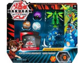 Bakugan Battle Pack Ventus Hyper Dragonoid & Aquos Pandoxx