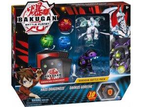 Bakugan Battle Pack Haos Dragonoid & Darkus Goreene