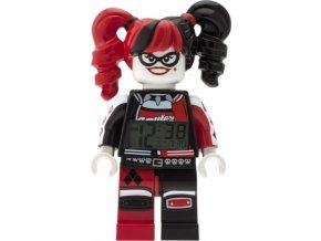LEGO Batman Movie hodiny s budíkem Harley Quinn