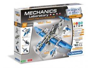 mechanicka laborator letadla a vrtulniky
