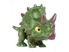 Jursky svet snap squad triceratops s pohyblivou celisti 1