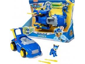Tlapková patrola transormující se vozidla super hrdinů Chase