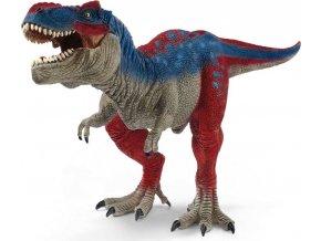 Schleich 72155 Tyrannosaurus Rex s pohyblivou čelistí modrý Exclusive!