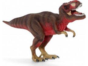 Schleich 72068 Tyrannosaurus Rex s pohyblivou čelistí červený Exclusive!