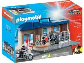 PLAYMOBIL 5689 Přenosná policejní stanice