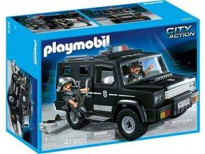 PLAYMOBIL 5974 Terénní vozidlo speciální jednotky