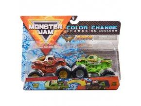 Spin Master Monster Jam sberatelska auta dvojbaleni wonder woman Avenger 1