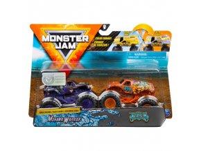 Spin Master Monster Jam sberatelska auta dvojbaleni mohawk Warrior Jester 1