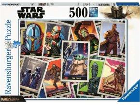 Ravensburger 16561 Puzzle Star Wars The Mandalorian - Baby Yoda 500 dílků