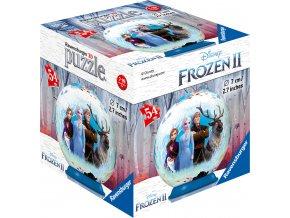 Ledové království 2 - 3D puzzle 54 dílků