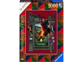 Ravensburger 16518 Puzzle Harry Potter Dragon 1000 dílků