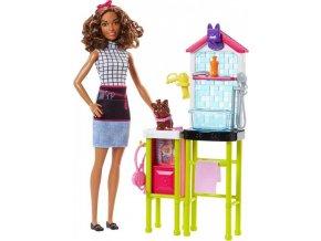 Barbie Povolání Pracovnice v psím salónu