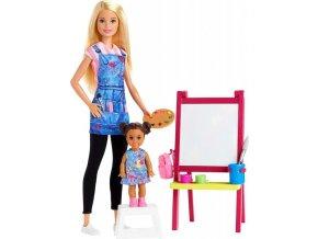 Barbie Povolání herní set Učitelka umění