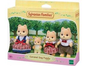 Sylvanian Families 5459 Rodina Karamelových psů