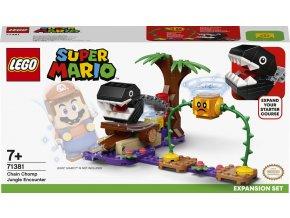 LEGO Super Mario 71381 Chain Chomp a setkání v džungli – rozšiřují set