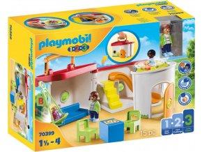 Playmobil 70399 Školka přenosný kufřík (1.2.3)