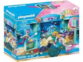 PLAYMOBIL 70509 Přenosný box Mořské panny