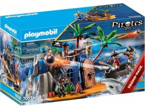 PLAYMOBIL 70556 Pirátský ostrov s ukrytým pokladem