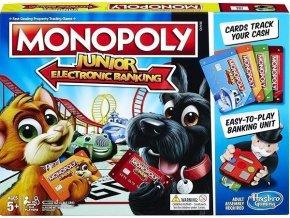 Monopoly Junior elektronické bankovnictví