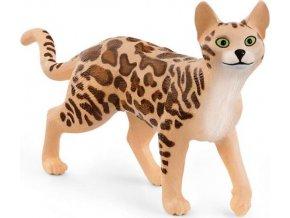 Schleich 13918 kočka bengálská