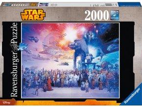 Star Wars vesmír 2000 dílků