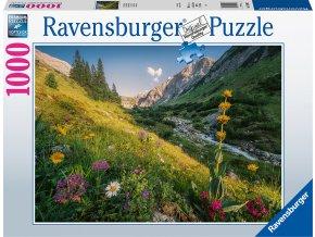 Puzzle V rajské zahradě 1000 dílků