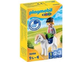 PLAYMOBIL 70410 Chlapec s poníkem (1.2.3)