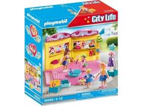 PLAYMOBIL 70592 Módní butik pro děti