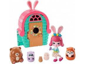ENCHANTIMALS Tajné útočiště nejlepších přátel Bree Bunny Cabin
