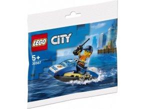LEGO City 30567 Policejní vodní skútr