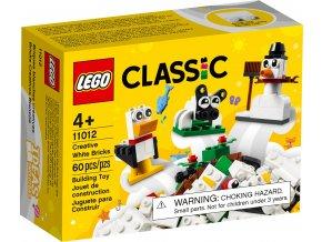 LEGO Classic 11012 Bílé kreativní kostky