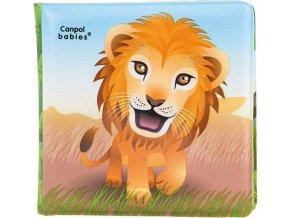 CANPOL Knížka měkká pískací - lev