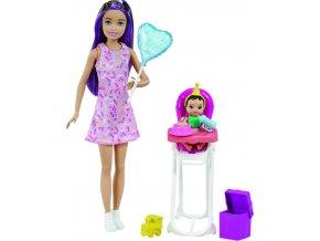 Barbie chůva herní set narozeniny