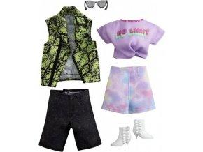 Barbie a Ken Fashion Rockový komplet