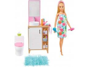 Barbie panenka a jeji koupelna 1