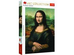 Puzzle Mona Lisa 1000 dílků