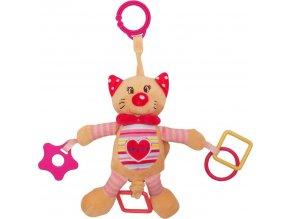 Plyšová hračka s vibrací Baby Mix kočka
