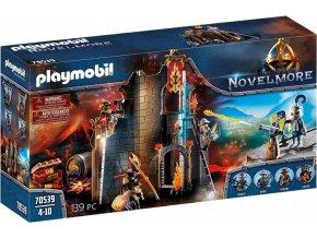 PLAYMOBIL 70539 Novelmore Hořící zřícenina