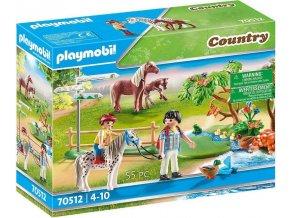 PLAYMOBIL 70512 Výlet na poníkovi