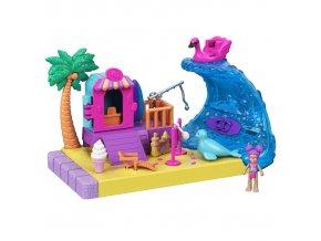 Polly Pocket Pollyville slunecna plaz 1