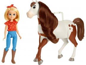 Spirit panenka Abigail a kůň Boomerang