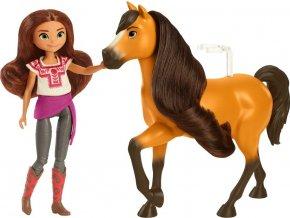 Spirit panenka Lucky a kůň Spirit