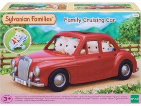 Sylvanian Families 5448 rodinne cestovni auto cervene 1