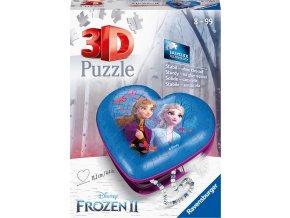Puzzle srdce Disney ledové království 2  54 dílků